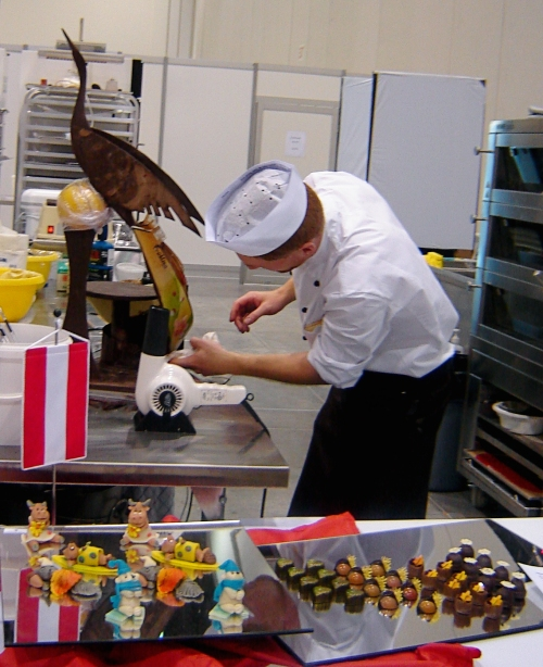 Worldskills 2009 Pastry Competitor