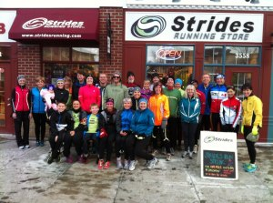 Strides Holiday Running Streak 2012
